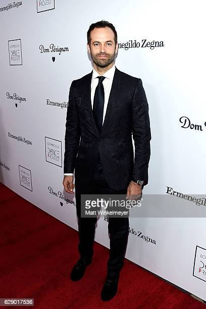 Choreographer Benjamin Millepied attends the LA Dance Project's Annual Gala at The Theatre at Ace Hotel on December 10 2016 in Los Angeles California