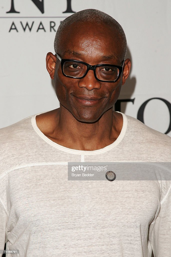 Choreographer Bill T. Jones attends the 2007 Tony Awards nominees press reception at the Marriott Marquis on May 16, 2007 in New York City.