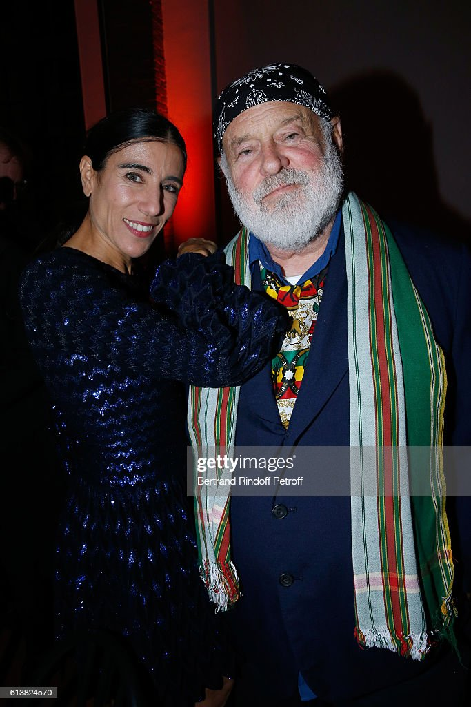 Choreographer Blanca Li and Bruce Weber attend Azzedine Alaia presents his new Perfume 'Alaia Eau de Parfum Blanche'. Held at Azzedine Alaia Gallery on October 10, 2016 in Paris, France.