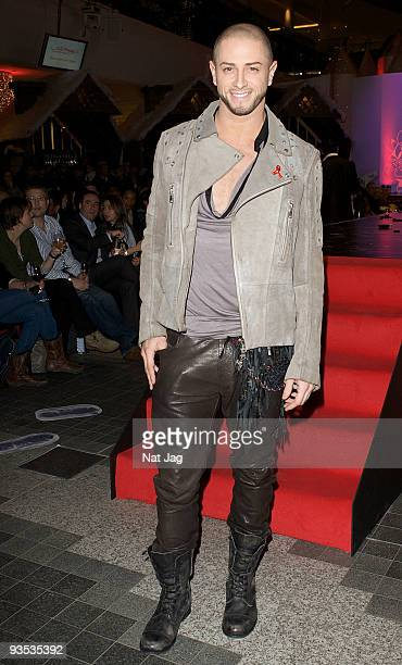 Choreographer Brian Friedman attends the opening of the new Ed Hardy store at Westfield on December 1, 2009 in London, England.