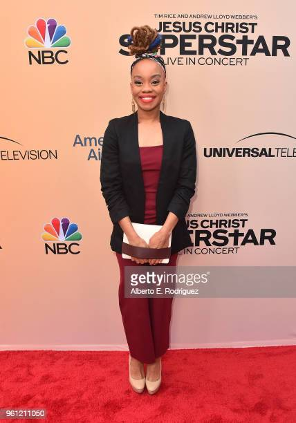 Choreographer Camille A Brown attends an FYC Event for NBC's Jesus Christ Superstar Live in Concert at the Egyptian Theatre on May 21 2018 in...