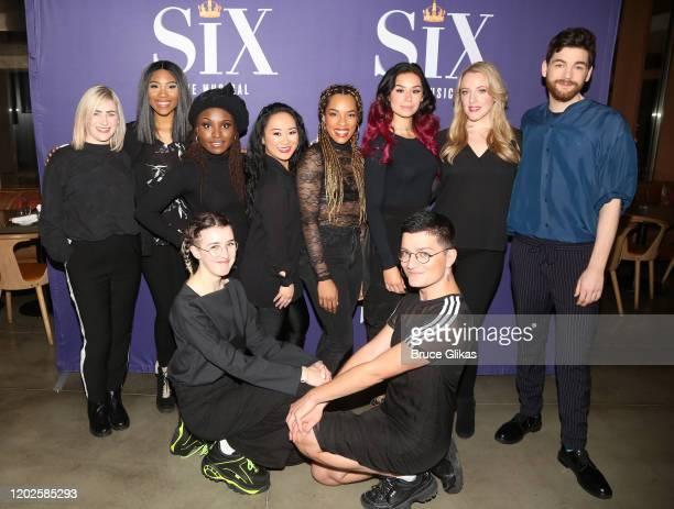 Choreographer Carrie-Anne Ingrouille, Adrianna Hicks, Brittney Mack, Co-Writer/Co-Director Lucy Moss, Andrea Macasaet, Anna Uzele, Samantha Pauly,...