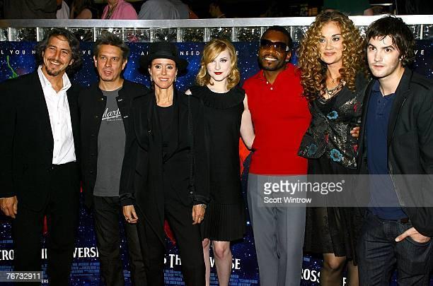 Choreographer Daniel Ezralow composer Elliot Goldenthal director Julie Taymor actress Evan Rachel Wood actor Martin Luther actress Dana Fuchs and...