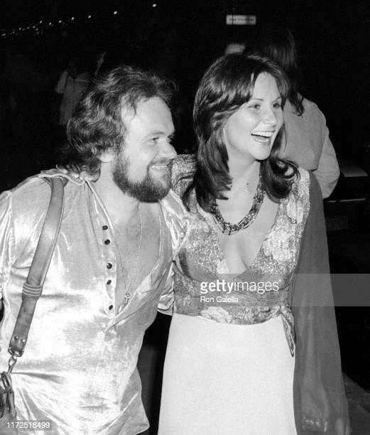Choreographer David Winters and actress Linda Lovelace attend the Tommy Smothers Opening at the Troubador in Hollywood, California on March 12, 1974.