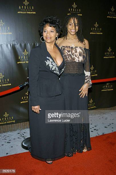 Choreographer Debbie Allen and her daughter Vivian attend the Gregory Hines Memorial Celebration at the Apollo Theater September 21 2003 in New York...