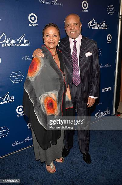Choreographer Debbie Allen and Motown founder Berry Gordy attend the Impressions A Magical Night Of Dance fundraiser for the Debbie Allen Dance...