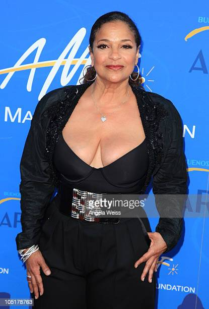 Choreographer Debbie Allen arrives at the Alfred E Mann Foundation Black Tie Gala Fundraiser at Hangar 8 Santa Monica Airport on October 10 2010 in...