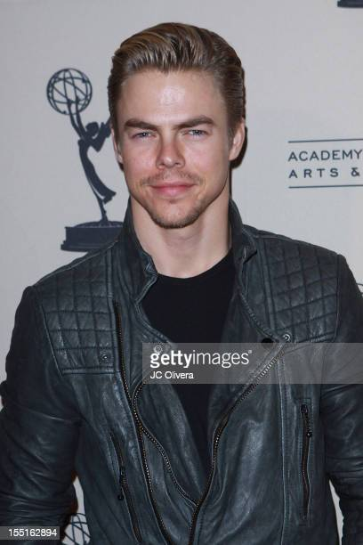 Choreographer Derek Hough attends Academy Of Television Arts Sciences' Entertainment Activities Committee's The Choreographers Yesterday Today...