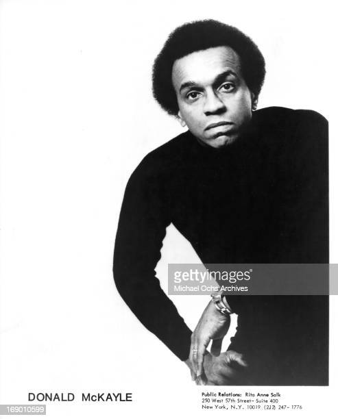 Choreographer Donald McKayle poses for a portrait in circa 1970