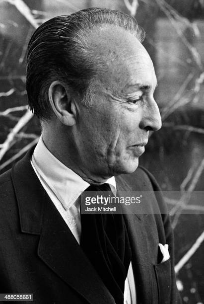 Choreographer George Balanchine photographed in 1965