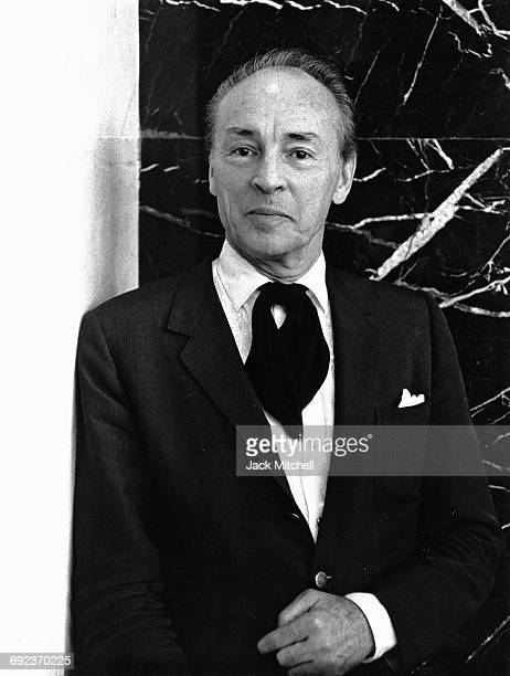 Choreographer George Balanchine photographed in September 1964