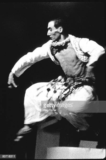 Choreographer Jack Cole dancing on stage
