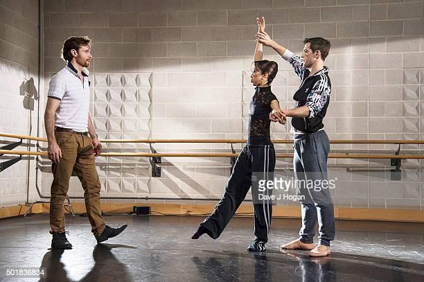 Choreographer James Streeter , Soloist at English National Ballet, Erina Takahashi, Lead Principal at English National Ballet and James Forbat, First...