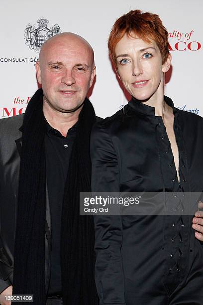 Choreographer JeanChristope Maillot and dancer Bernice Coppieters attends Monaco's Consulate General And Tourist Office In NY Celebrate Opening Night...