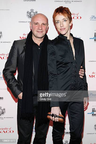 Choreographer JeanChristope Maillot and dancer Bernice Coppleters attends Monaco's Consulate General And Tourist Office In NY Celebrate Opening Night...