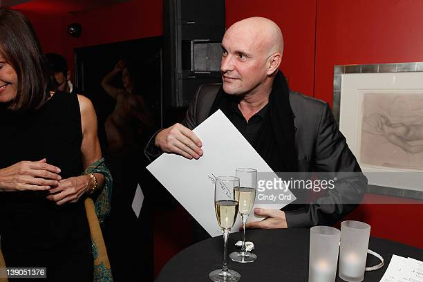 Choreographer JeanChristophe Maillot attends Monaco's Consulate General And Tourist Office In NY Celebrate Opening Night Of Les Ballets De MonteCarlo...