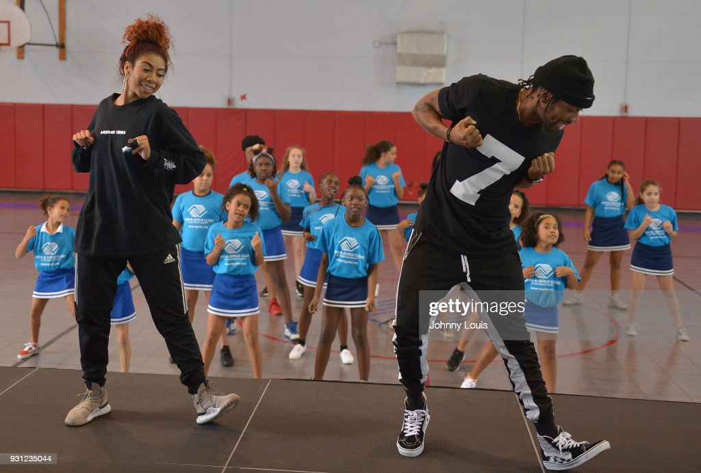 Choreographer Jeremy Strong teaches youth choreography to Jason Derulo's new single 'Colors' at Boys & Girls Club of Broward County on March 12, 2018 in Hollywood, Florida. Footage from the lesson will be used in the official 'Colors' lyric video. The footage from the lesson will be used in the official 'Colors' lyric video and following the group performance, Derulo hosted a Q&A with the clubs youth to answer questions about his upbringing, career and more.