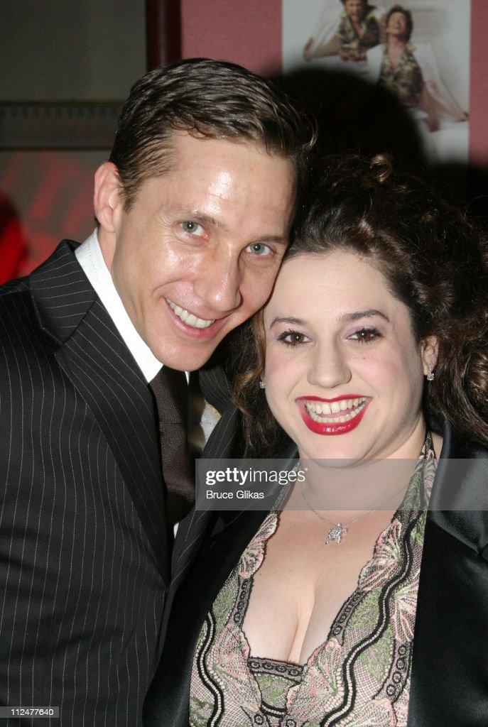 Choreographer Joey McNeely and Marissa Jaret Winokur