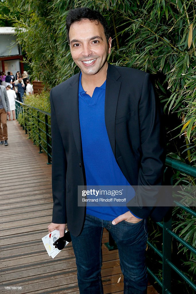 Choreographer Kamel Ouali attends Roland Garros Tennis French Open 2013 - Day 7 on June 1, 2013 in Paris, France.