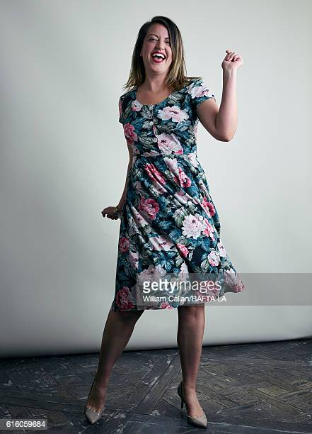 Choreographer Kathryn Burns poses for a portrait BBC America BAFTA Los Angeles TV Tea Party 2016 at the The London Hotel on September 17, 2016 in...