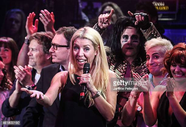Choreographer Kelly Devine attends 'Rock Of Ages' Final Performance On Broadway at Helen Hayes Theatre on January 18 2015 in New York City