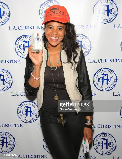 Choreographer Laurieann Gibson attends the Billboard Music Awards gifting lounge presented by Kari Feinstein PR at the MGM Grand Garden Arena at MGM...