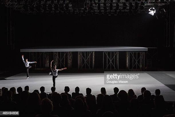"""Choreographer Lucinda Childs revives her seminal 1983 collaboration with composer John Adams and architect Frank Gehry.""""Available Light"""", a..."""
