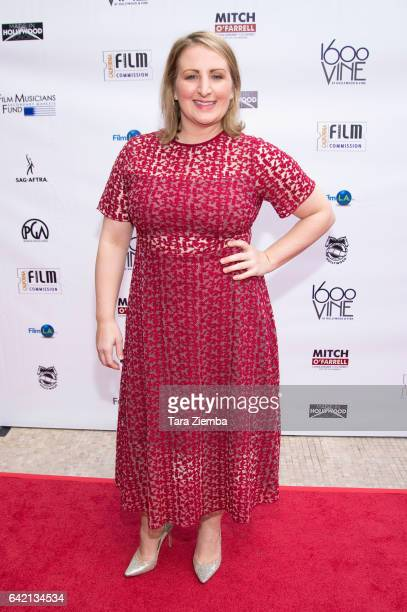 Choreographer Mandy Moore arrives for the 6th Annual Made in Hollywood Honors at Heart of Hollywood Terrace on February 16 2017 in Hollywood...