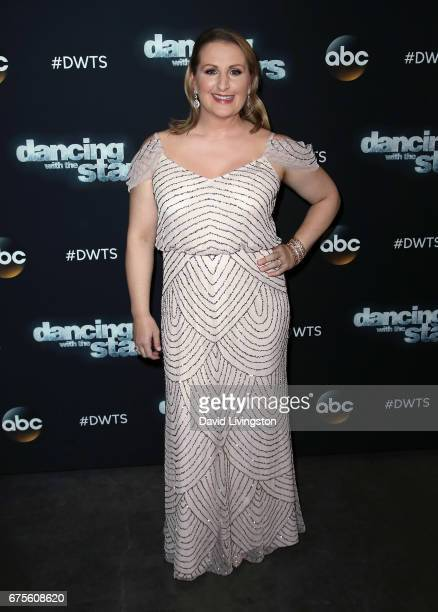 Choreographer Mandy Moore attends 'Dancing with the Stars' Season 24 at CBS Televison City on May 1 2017 in Los Angeles California
