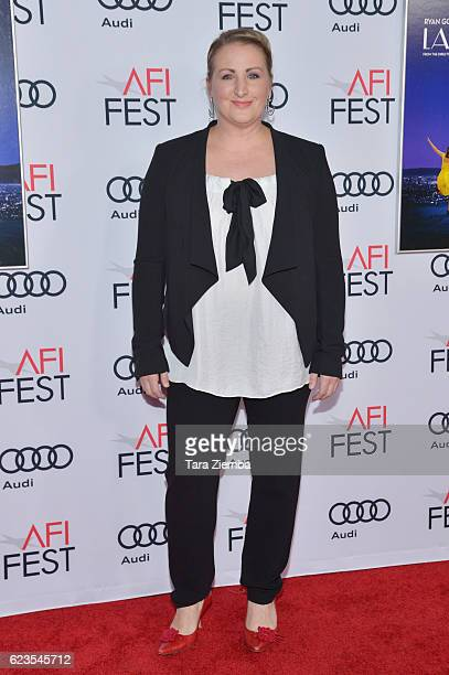 Choreographer Mandy Moore attends the premiere of 'LA LA LAND' at AFI Fest 2016 presented by Audi at The Chinese Theatre on November 15 2016 in...