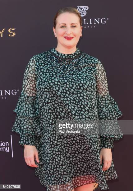 Choreographer Mandy Moore attends the Television Academy's Choreography peer group celebration at Saban Media Center on August 27 2017 in North...