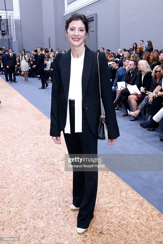 Choreographer Marie-Agnes Gillot attends the Chloe show as part of the Paris Fashion Week Womenswear Spring/Summer 2016. Held at Grand Palais on October 1, 2015 in Paris, France.