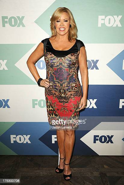 Choreographer Mary Murphy attends the FOX AllStar Party on August 1 2013 in West Hollywood California