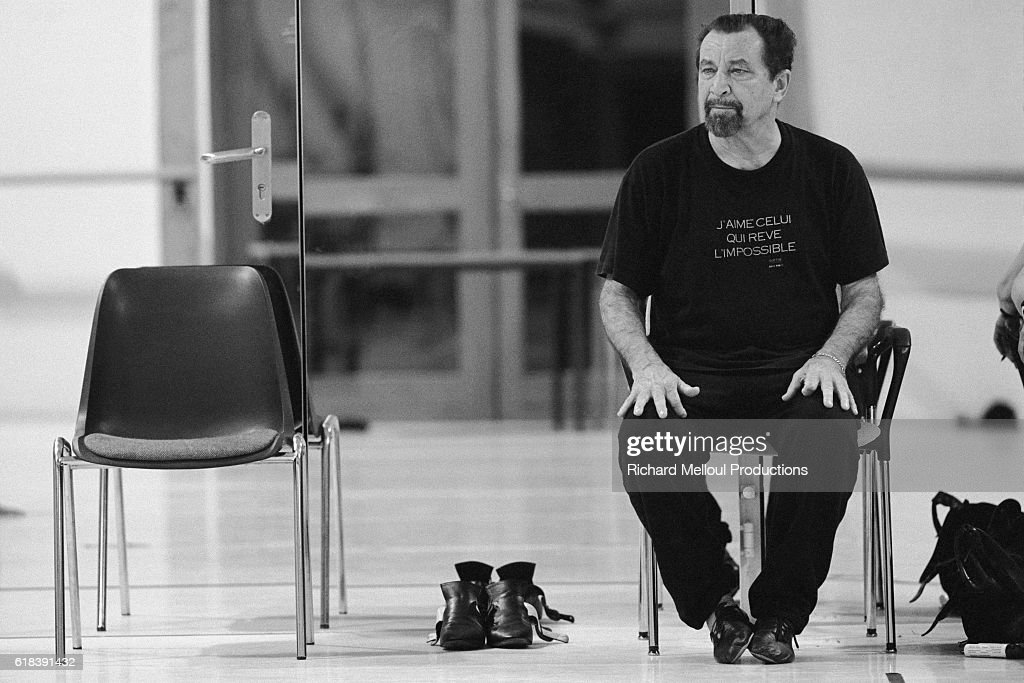 Choreographer Maurice Bejart : News Photo