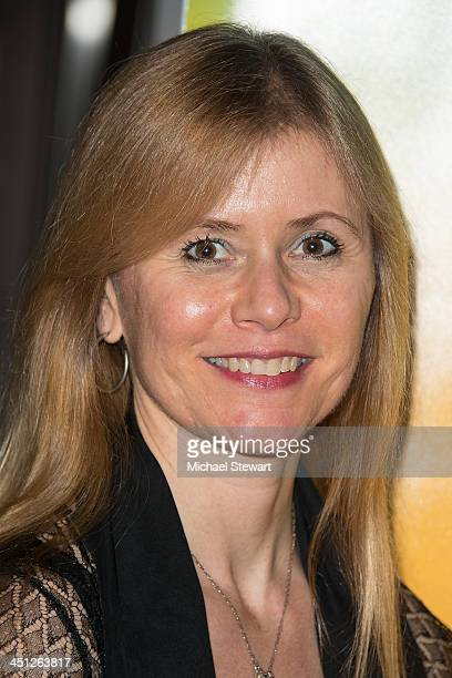 """Choreographer Merete Muenter attends the """"Lies My Father Told Me"""" Opening Night at Baruch Performing Arts Center on November 21, 2013 in New York..."""