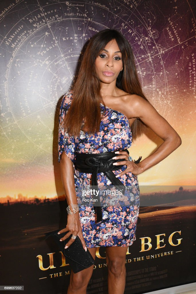 Choreographer Mia Frye attends 'Ulugh Beg The Man Who Unlocked the Universe ' Screening Cocktail at Club 13 and Dinner at Hotel Hoche on June 21, 2017 in Paris, France.