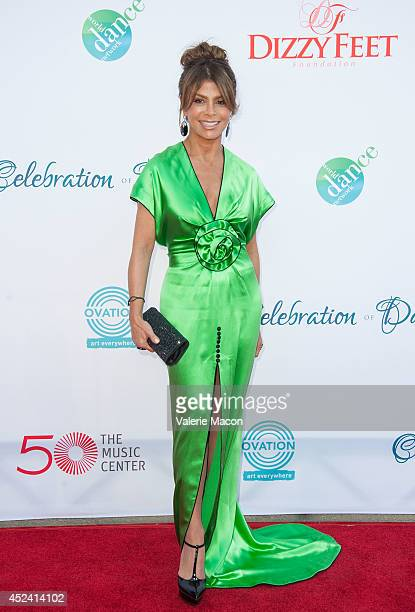 Choreographer Paula Abdul arrives at the 4th Annual Celebration Of Dance Gala Presented By The Dizzy Feet Foundation at Dorothy Chandler Pavilion on...