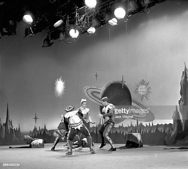 Choreographer Peter Gladke photographed in June 1957.