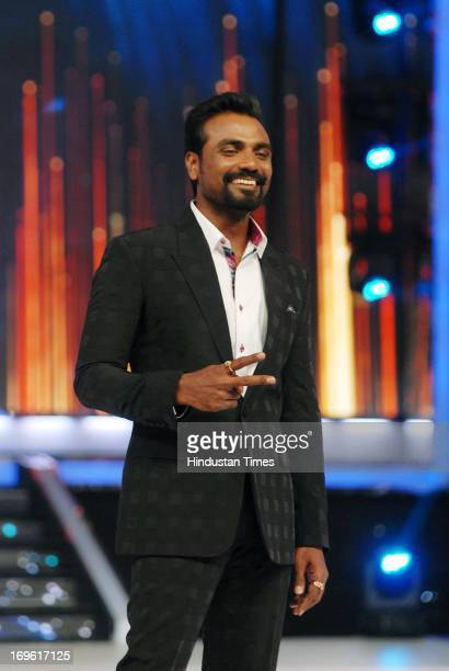 Choreographer Remo D'Souza during the first look of the dance reality show Jhalak Dikhla Jaa Season 6 at Filmistan Studio on May 27 2013 in Mumbai...