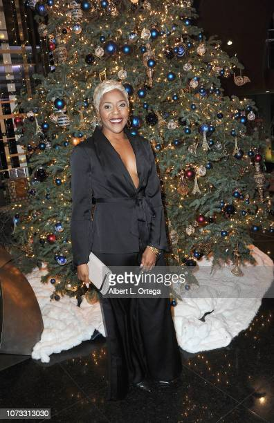 Choreographer Reyna Joy Banks attends the Amare's Second Year Anniversary 'Believe Issue' Party held at Sofitel Los Angeles At Beverly Hills on...
