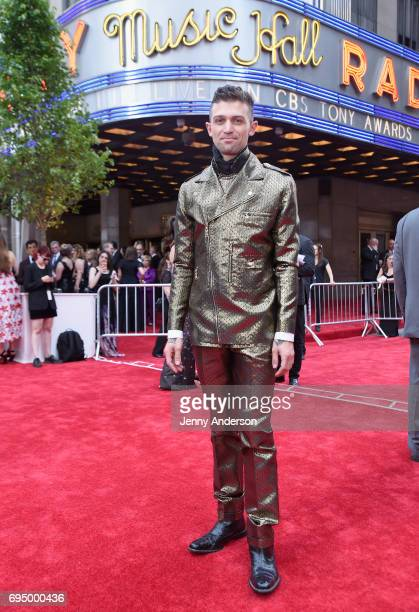 Choreographer Sam Pinkleton attends the 2017 Tony Awards at Radio City Music Hall on June 11 2017 in New York City