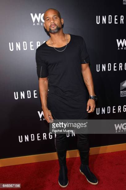 Choreographer Sean T attends WGN America's Underground Season Two Premiere Screening at Regency Village Theatre on March 1 2017 in Westwood California