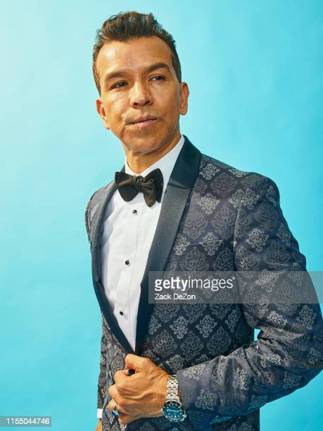 Choreographer Sergio Trujillo winner of the award for Best Choreography for Ain't Too Proud The Life and Times of the Temptations poses for a...