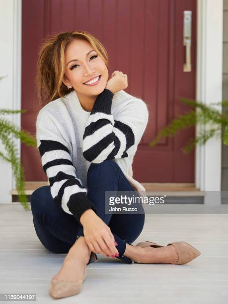 Choreographer singer actor and tv dance judge Carrie Ann Inaba is photographed for People magazine on December 11 2018 in Los Angeles California