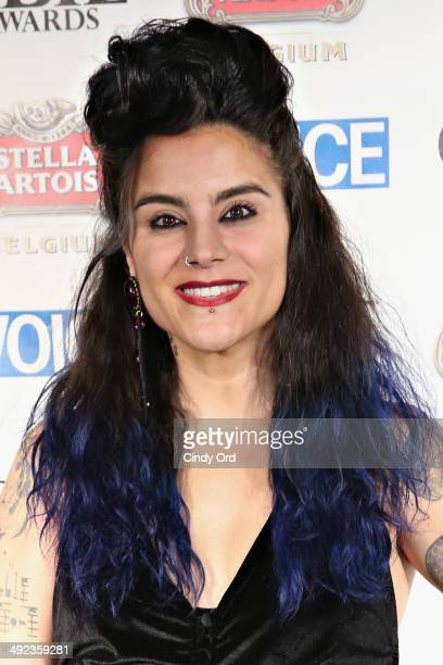 Choreographer Sonya Tayeh attends the 59th Annual Village Voice Obie awards at Webster Hall on May 19 2014 in New York City