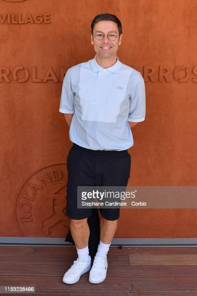 Choreographer Stephane Jarny attends the 2019 French Tennis Open Day Eight at Roland Garros on June 02 2019 in Paris France