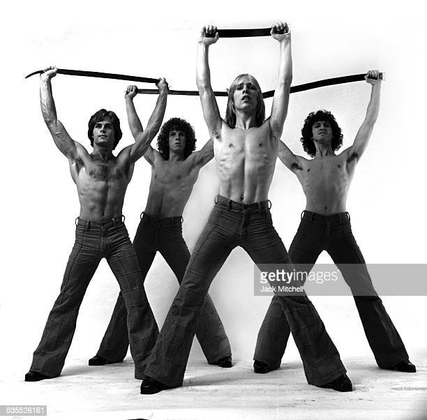 Choreographer Steve Merritt's Chippendales style performance in October 1975