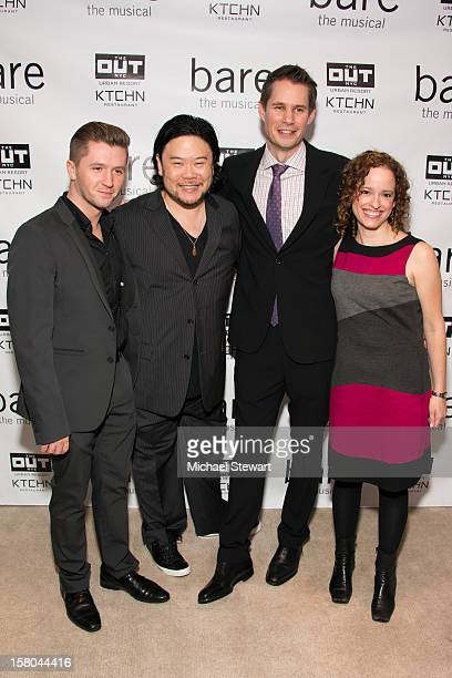 Choreographer Travis Wall director Stafford Arima writer Jon Hartmere and composer Lynne Shankel attend BARE The Musical Opening Night After Party at...