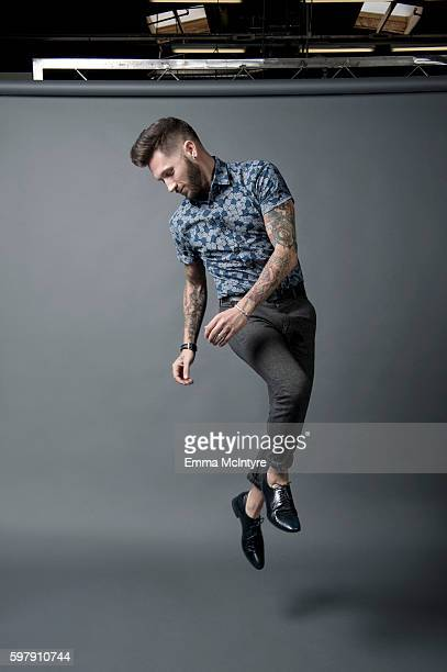 Choreographer Travis Wall is photographed for The Wrap on August 11 2016 in Los Angeles California