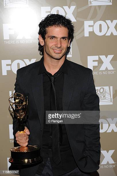 Choreographer Tyce Diorio attends the 20th Century Fox and FX 2009 Emmy Party at Cicada on September 20, 2009 in Los Angeles, California.